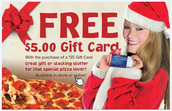 Sardella's Pizza Giftcard