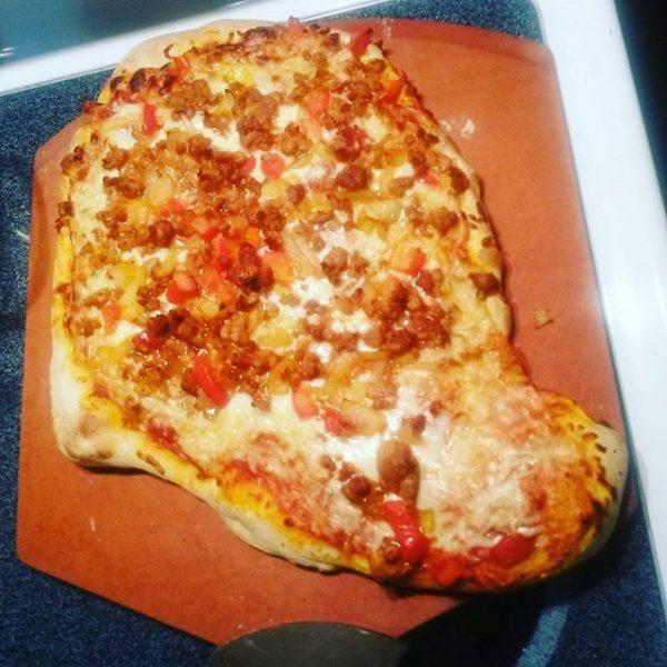 weird pizza shape