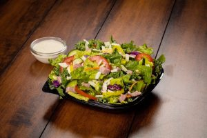 Southwest Salad with Dressing