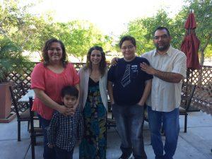 Michael Alaniz Sardella's Family